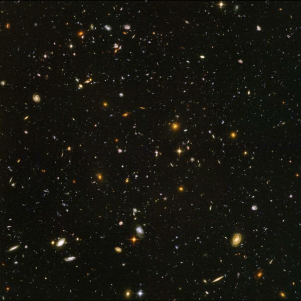 Campo ultra profondo di Hubble